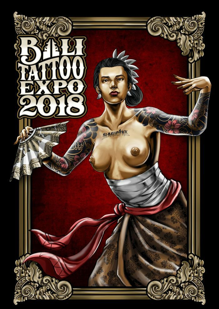 Bali Tattoo Expo Poster