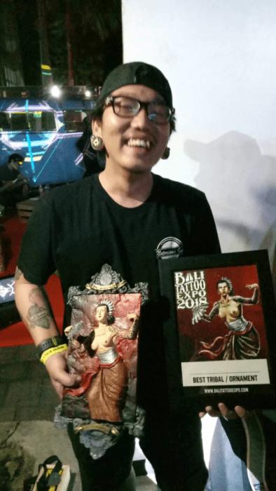 Bali Tattoo Expo 2018 Award-winner Endry Dharma