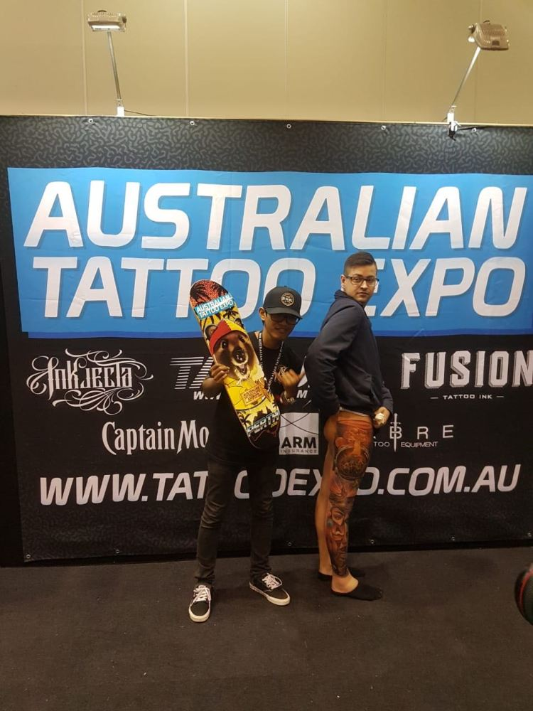 Ata Ink Tattoo of the Show Perth Tattoo Expo 2018 Winner