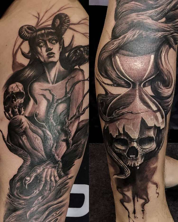 Australian Tattoo Expo best freehand by Ricky TNT Perth 2018