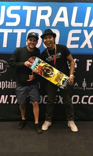 Dedy of Anchor Tattoo Bali wins best neotraditional at Australian Tattoo Expo 2018