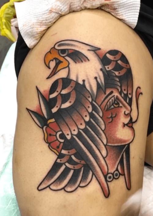 Perth Expo 2018 Best Traditional Tattoo by Guntur Gunz Indonesian Tattoo Artist