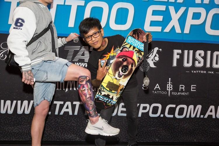 Tattoo of the Day Australian Tattoo Expo 2018 Perth ata ink