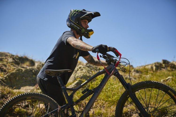 Tattooed Mountain Biker Sam Hill