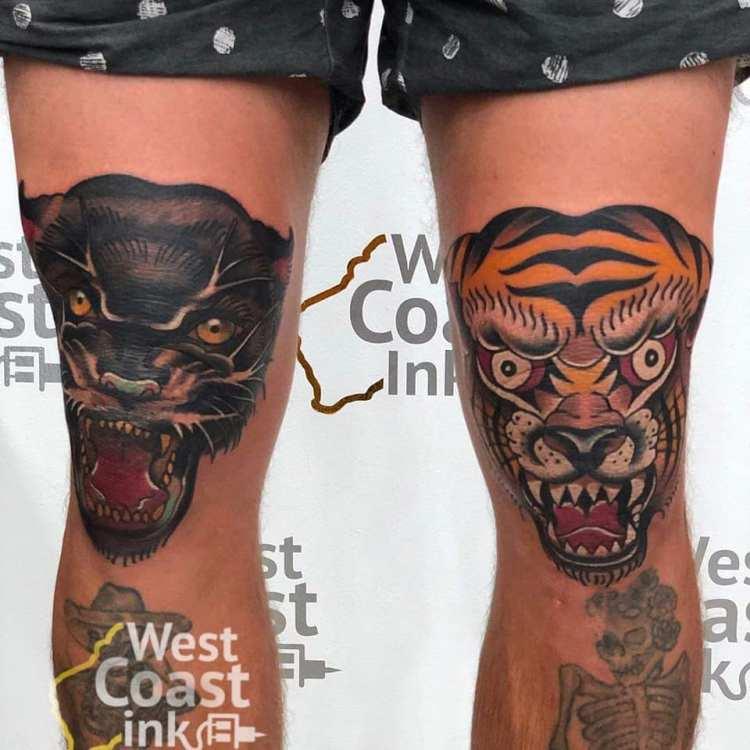 Sam Hill Tattoos from Bali