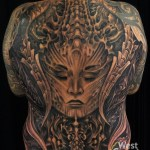 Backpiece on Rob by Kecil Ezr at Bali Tattoo Expo 2019