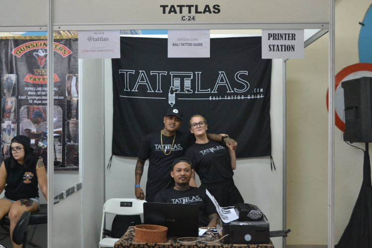 Bali Tattoo Expo 2018 Tattlas Booth