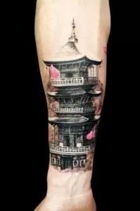 Japanese Temple Tattoo Meaning : japanese, temple, tattoo, meaning, Japanese, Temple, Tattoos:, Meanings,, Symbolism