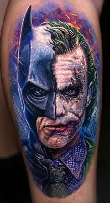 Batman Joker Tattoo : batman, joker, tattoo, Joker, Tattoos:, Meanings,, Artists,, Tattoo, Designs, Ideas