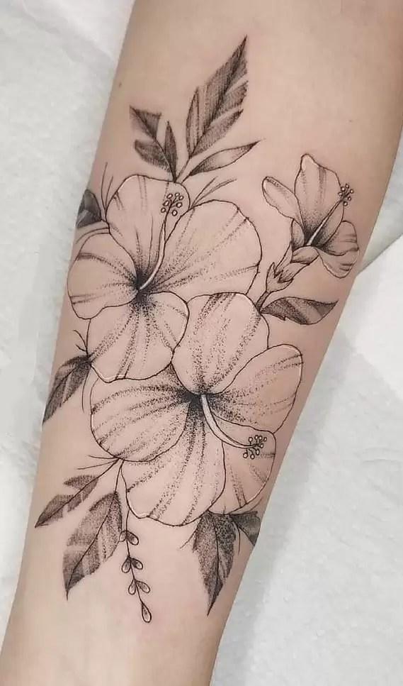 Hawaiian Flower Tattoos Meaning : hawaiian, flower, tattoos, meaning, Hibiscus, Tattoos:, Meanings,, Symbolism,, Tattoo, Designs, Ideas