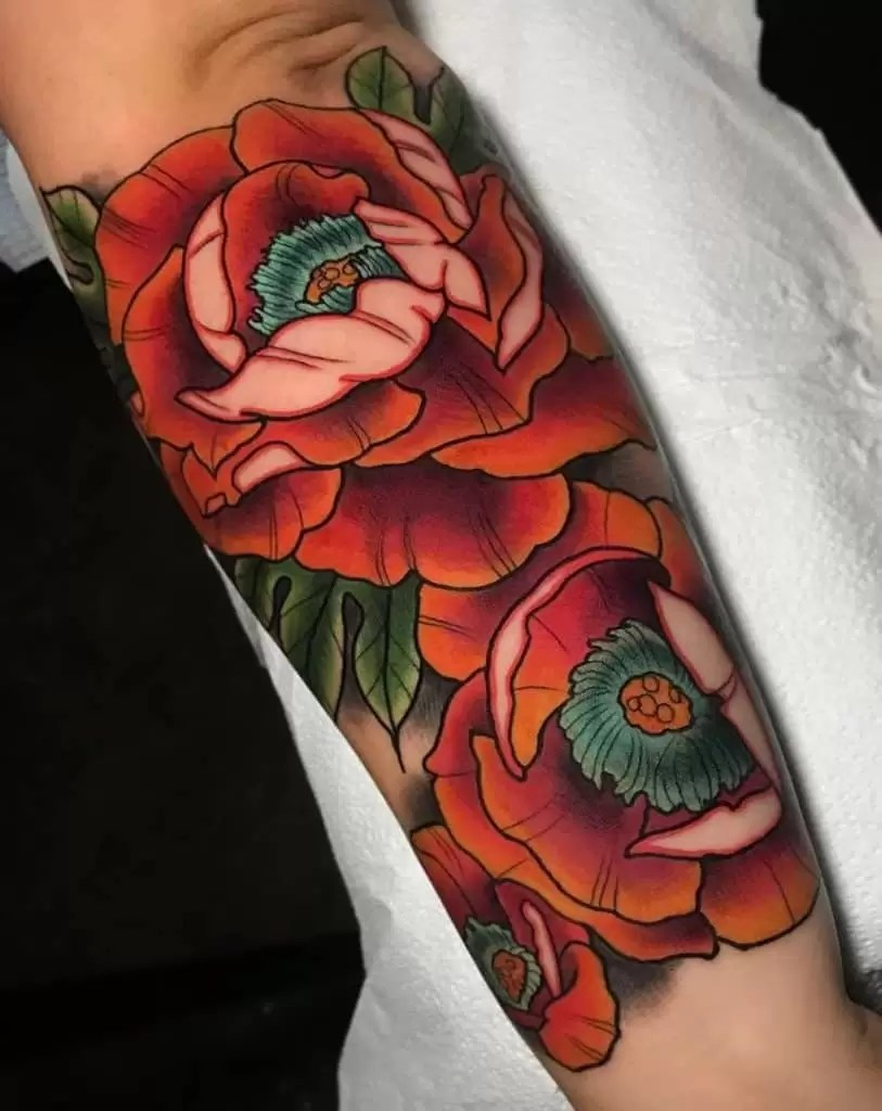 Tattoo uploaded by Bored To Death | Neo Traditional Peony