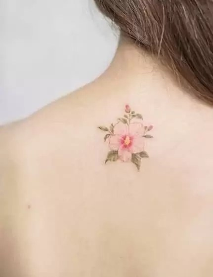 Traditional Hibiscus Tattoo : traditional, hibiscus, tattoo, Hibiscus, Tattoos:, Meanings,, Symbolism,, Tattoo, Designs, Ideas