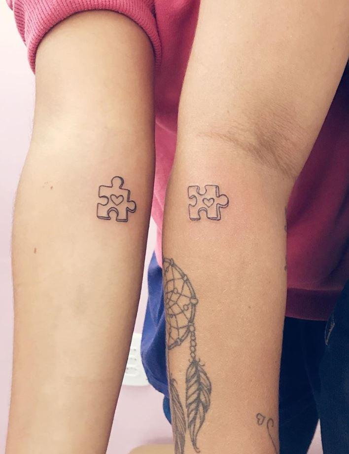 Puzzle Tattoos : puzzle, tattoos, Matching, Puzzle, Tattoos, TattManiaTattMania