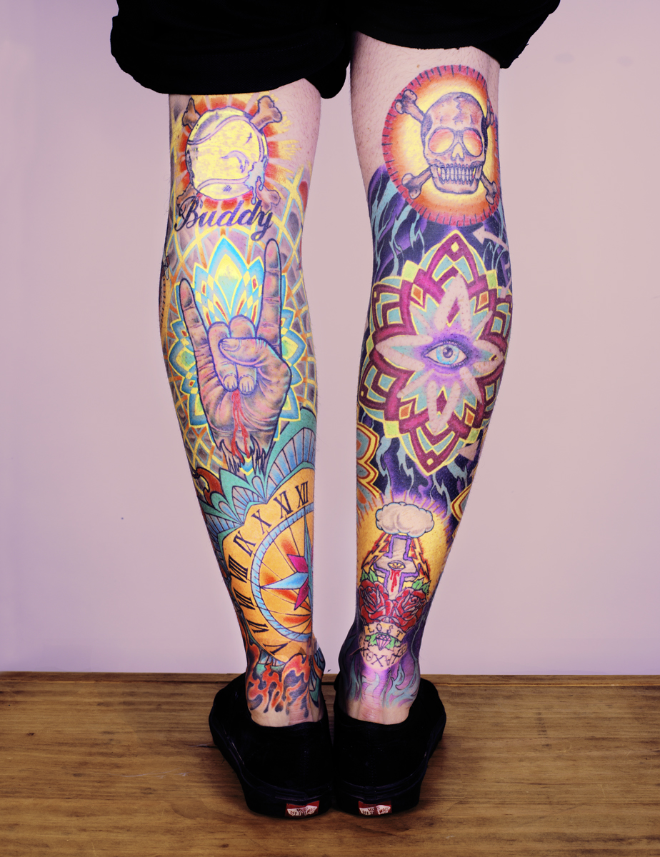 Tattoo Design Color Di Kaki