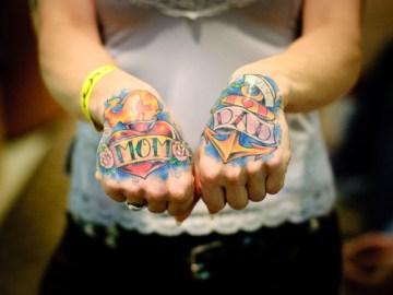 Mom & Dad Tattoo