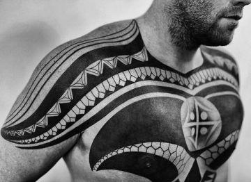 Tribal Tattoo Front