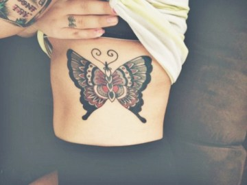 Classic Butterfly Tattoo