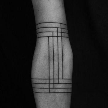 Grid Tattoo