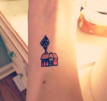 Pixar Up Tattoo