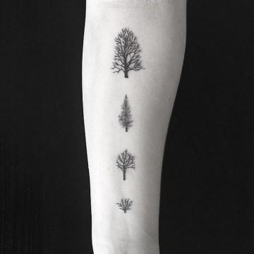 Four Little Trees