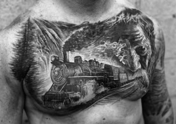 Railroad Tattoo