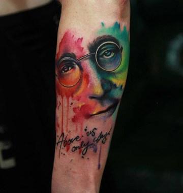 John Lennon Tattoo