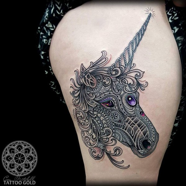20 Unicorn Tattoo Designs Pictures And Ideas On Carver Museum