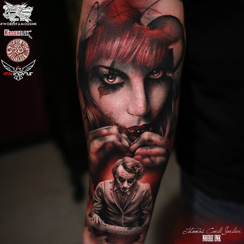 Harley And Joker Couples Tattoos