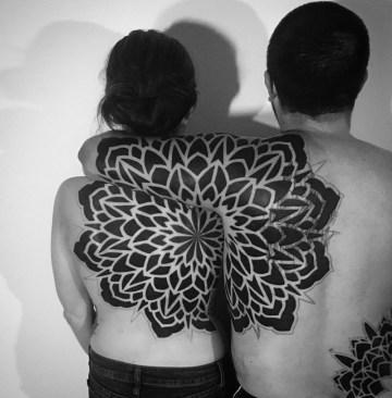 Double Back Mandala