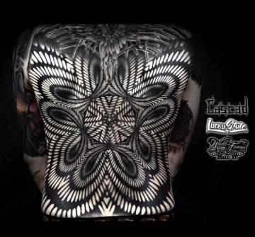 Pattern Back Tattoo