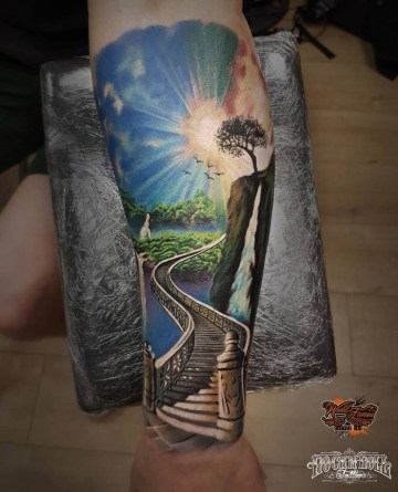 Stairs to Paradise Sleeve