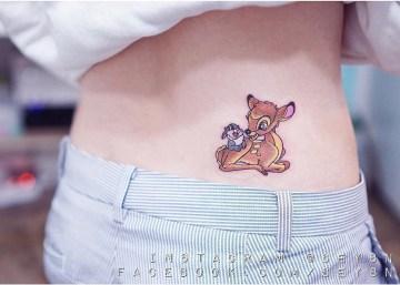 Thumper & Bambi Tattoo