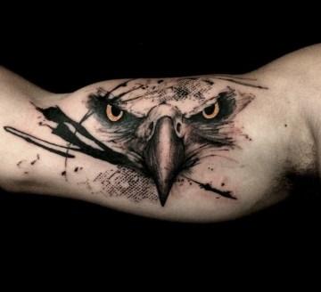 Eagle Arm Tattoo