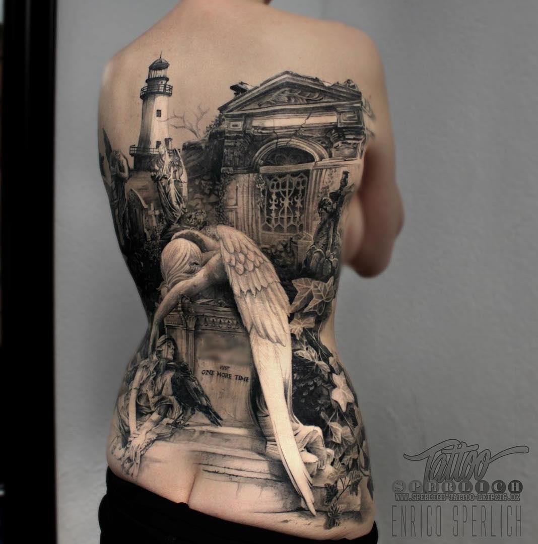 Angel Of Grief  Best Tattoo Design Ideas