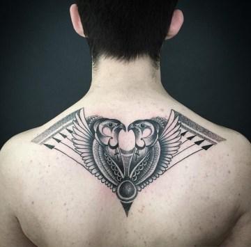Horus The Falcon God Tattoo