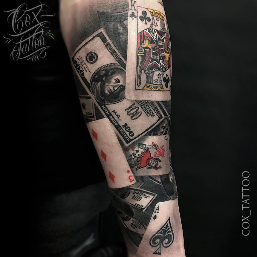 Joker Full Sleeve Tattoo