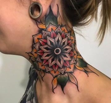 Color Neck Mandala
