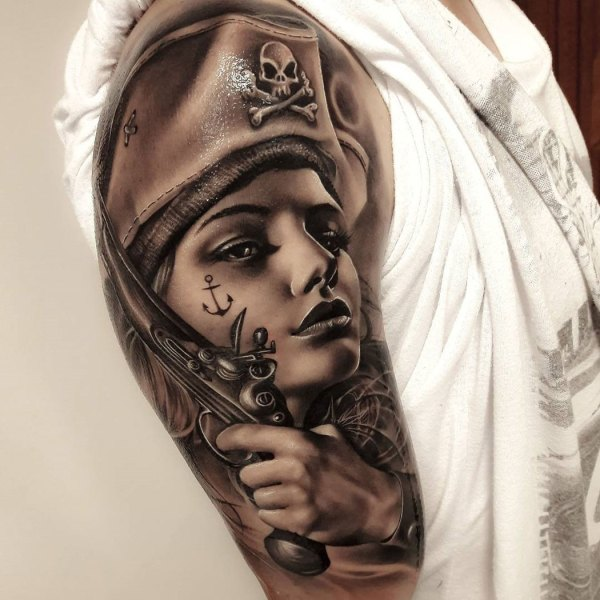 50bb1486b 20+ Pirate Girl Tattoo Pictures and Ideas on STEM Education Caucus