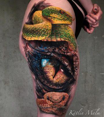 Snake & Dragon's Eye