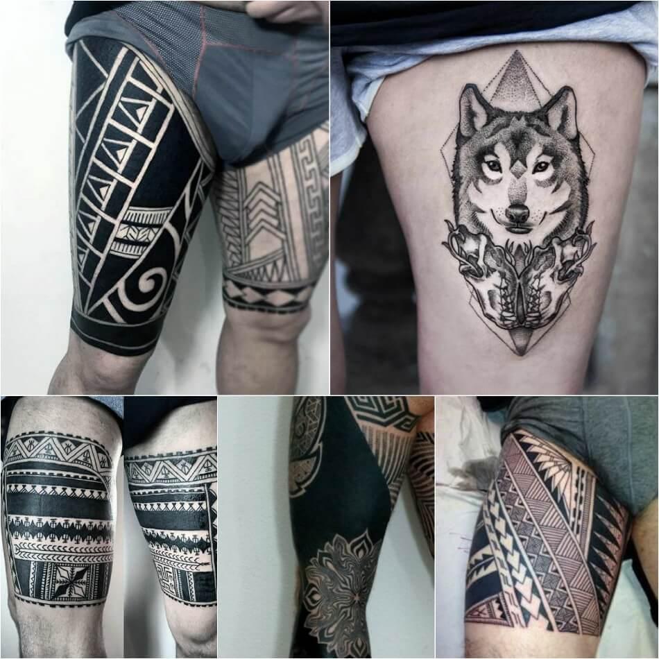 Tetovaža Na Bedro Cvijeće Tetovaža Na Boku žene I