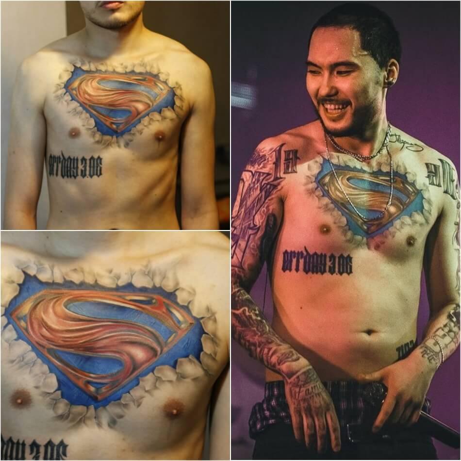 тату скриптонита значение какие татуировки у скриптонита