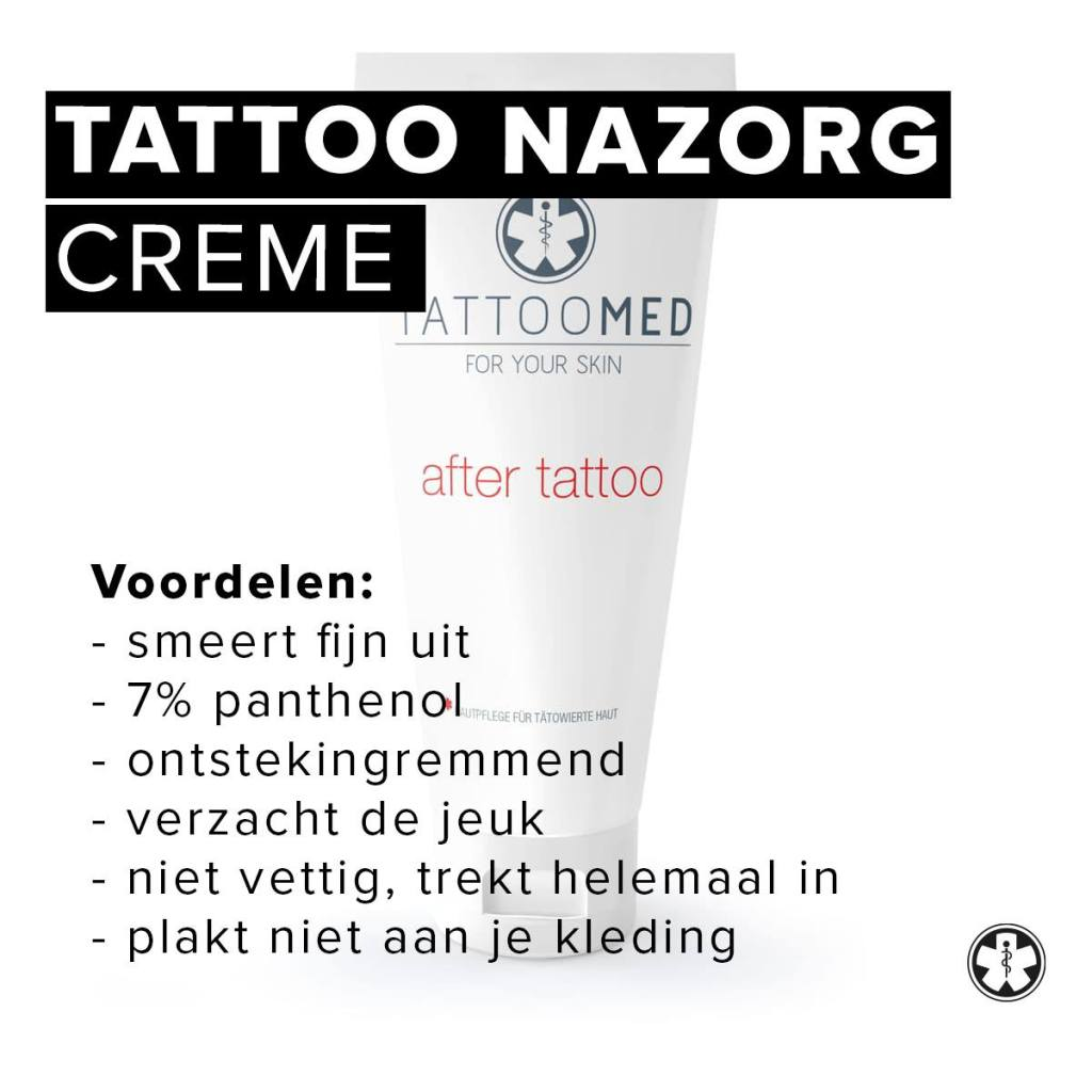 Tattoo nazorg | verzorging Tattoomed