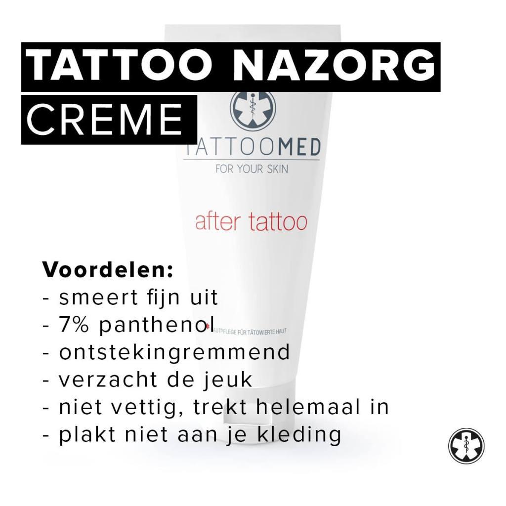 Tattoo nazorg | verzorging Tattoomed