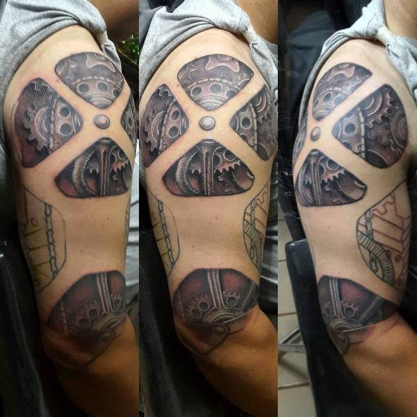 3D Tattoo Designs for Men