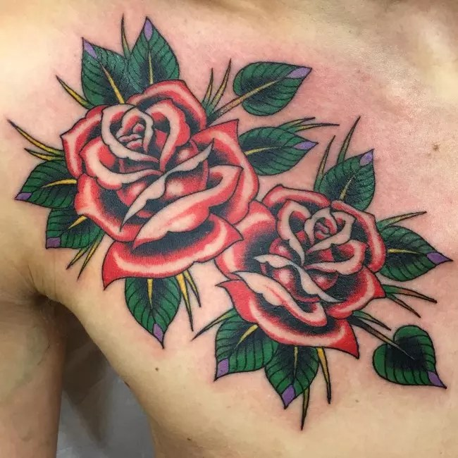 Flowers Tattoo Designs Photos