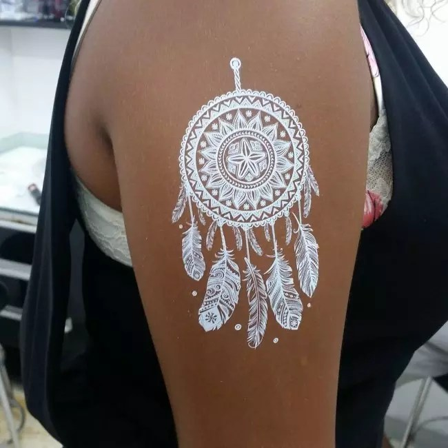 95 Best White Tattoo Designs  Meanings  Best Ideas of 2019
