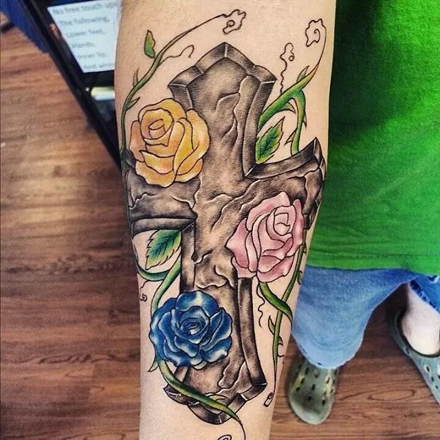 Celtic Cross Tattoos For Women