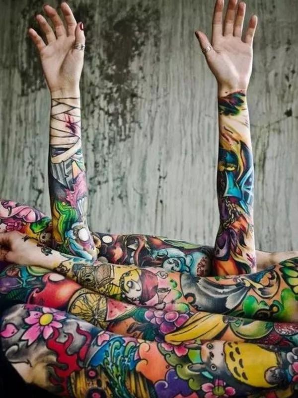 Full Hand Tattoos For Boys