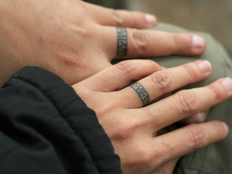 Finger Tattoos For Men Name