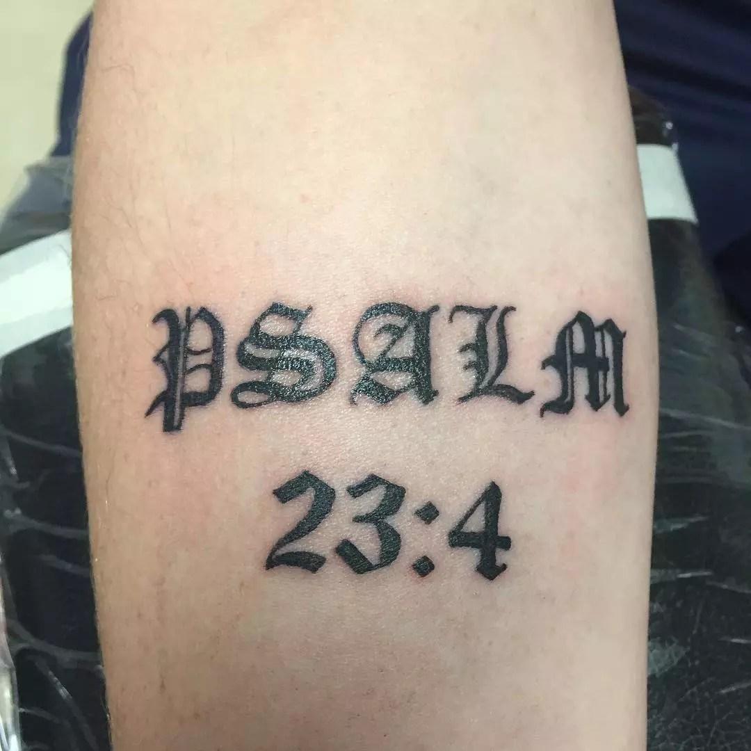 Short Bible Verses Tattoos